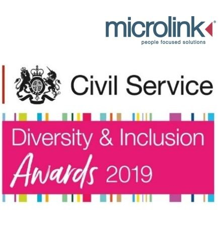 Civil Service Diversity & Inclusion and Microlink Logo