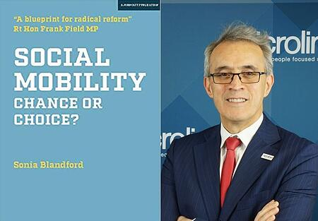 Dr Nasser Siabi interview in Social Mobility Chance or choice book.
