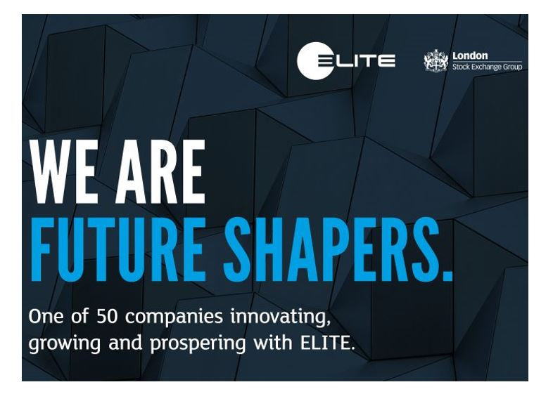 We are future shapers, one of 50 companies innovating, growing and prospering with ELITE